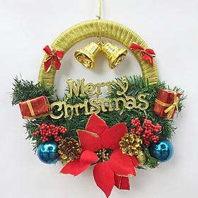 Vòng nguyệt quế trang trí Noel 40cm x 40cm