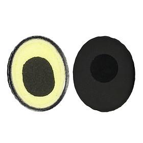 Replacements Ear Pads Eartips Cushions Cover for Sennheiser HD228 HD218 HD219 Headphones Black