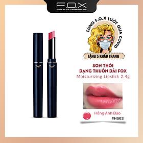 [TAIWAN] Son Thỏi Dạng Thuôn Dài F.O.X Moisturizing Lipstick 2.4g