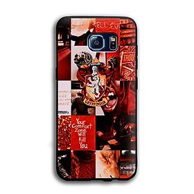 Ốp lưng Harry Potter cho điện thoại Samsung Galaxy S6 - Viền TPU dẻo - 02045 7786 HP06 - Hàng Chính Hãng