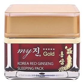 Mặt Nạ Ngủ Hồng Sâm My Gold Korea Red Ginseng Sleeping Pack (50ml)
