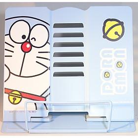 Giá kẹp sách, đỡ sách, đọc sách chống cận thị cho bé - Doraemon Xanh