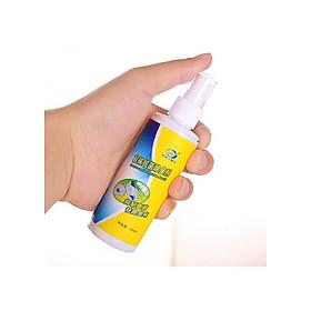 COMBO Bình Xịt Khử Mùi Hôi Giày + Bình Lau Giày Dép, Túi Xách Đa Năng - TẶNG MÓC GIÀY