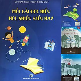 Bộ 2 cuốn sách: Mỗi bài đọc hiểu học nhiều điều hay, Rèn viết đúng luyện viết hay (Dành cho học sinh) - Thầy Đỗ Xuân Thảo, cô Phan Thị Hồ Điệp