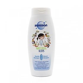 Sữa tắm gội Olive dưỡng ẩm hương Dừa Sanosan 250ml