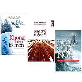 Combo 3 Cuốn Sách Kỹ Năng Sống: Không Theo Lối Mòn (Tái Bản) + Làm Chủ Cuộc Đời + Không Gục Ngã (Khổ Nhỏ)(Tái Bản) - (Cuốn Sách Giúp Bạn Vươn Tới Thành Công, Sách Kỹ Năng)