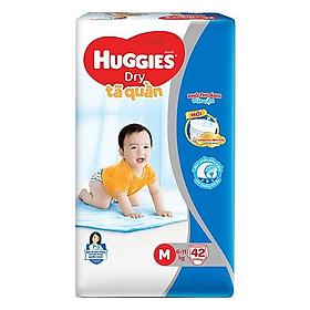 Tã Quần Huggies Dry M42 (42 miếng cho bé 6-11kg ) - HSD Luôn mới