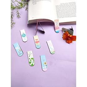 Combo 9 Bookmark Nam Châm Đánh Dấu Sách - Động Vật Dễ Thương (Mẫu Ngẫu Nhiên)