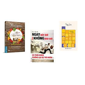 Combo 3 cuốn sách: Người Thợ Mộc Lạ Lùng + Ngay Bây giờ Hoặc Không Bao giờ + Những Mảnh Ghép Tuổi Trẻ