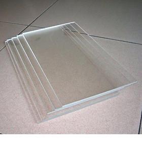5 tấm nhựa mica mỏng trong suốt dùng làm hồ cá, bể show cá 7 màu, Guppy, betta mini ( tấm acrylic trong suốt)