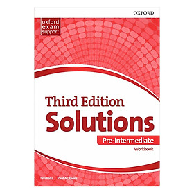 Solutions (3E) Pre-Intermediate Workbook