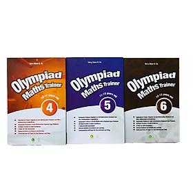 Combo 3 cuốn luyện thi Toán cho học sinh cấp 2 - Olympiad Maths Trainer tập 4+5+6 - Sách Tiếng Anh