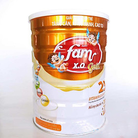 Sữa bột FAM X.O GOLD - Lon 900gr