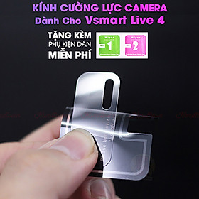 Kính Cường lực Camera cho Vsmart Live 4- Hàng Chính Hãng