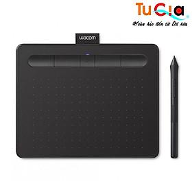 Bảng vẽ cảm ứng Wacom Intuos S CTL-4100 Small (Black) - Hàng chính hãng