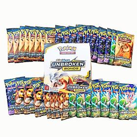 Bộ Thẻ Bài Pokemon 324 Thẻ Sun&Moon Unbroken Bonds TCG Sưu Tập Đẹp Đọc Đáo