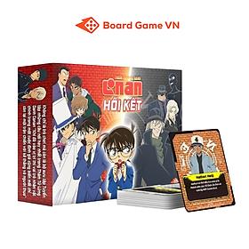"""Boardgame """"Thám tử lừng danh Conan - Hồi Kết"""" - kèm bộ Hồ sơ 25 nhân vật cực chất"""