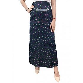Váy chống nắng xẻ tà chất liệu JEAN