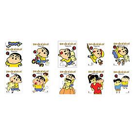 Combo Shin Cậu bé bút chì - Truyện Ngắn Tập 01 - 10 (Bộ 10 cuốn)