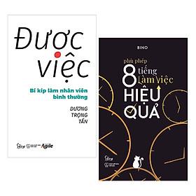 Combo 2 Cuốn Sách Kỹ Năng Làm Việc Tuyệt Vời: Được Việc - Bí Kíp Làm Nhân Viên Bình Thường + Phù Phép 8 Tiếng Làm Việc Hiệu Quả / Tặng Kèm Bookmark Happy Life
