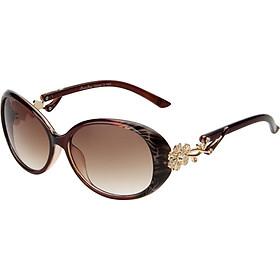 Love (LianSan) polarized sunglasses female section of the big frame fashion face color film diamond Korean driving mirror sunglasses GD103 black polarized light