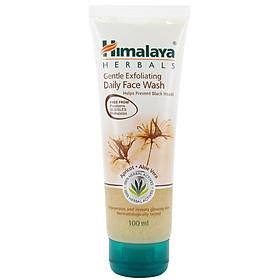 Sữa rửa mặt tẩy tế bào chết sáng da Himalaya Gentle Exfoliating Daily Face Wash 100ml
