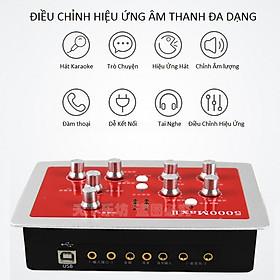Sound Card Thu Âm Auto Tune HF-5000 MAX II Cao Cấp AZONE