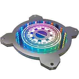 Bảng Led RGB 3D Light Board coolmoon đồng bộ Hub , Dùng độ trang trí cho case máy tính - hàng nhập khẩu
