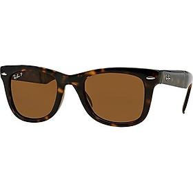 Ray Ban rb 4105 sunglasses Light Havana w/ Crystal Brown Polarized Lenses 50