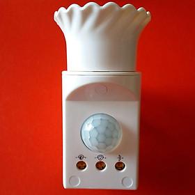 Đui đèn thông minh cảm biến hồng ngoại, ánh sáng có thể cắm trực tiếp vào ổ cắm, tiết kiệm năng lượng