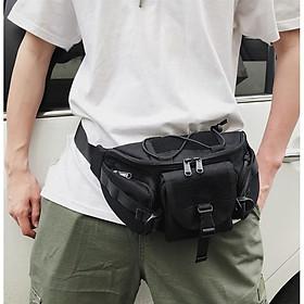 Túi bao tử đeo chéo nam nữ Z8848 thời trang vải oxford dày cao cấp, nhiều ngăn bỏ được điện thoại và nhiều phụ kiện