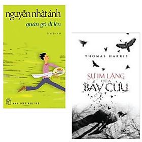 Combo 2 cuốn tác phẩm kinh điển: Sự Im Lặng Của Bầy Cừu + Quán Gò Đi Lên - Nguyễn Nhật Ánh + Bookmark Happy Life( Sách văn học bán chạy)