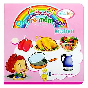 Câu Đố Cho Trẻ Mầm Non - Đồ Dùng Nhà Bếp
