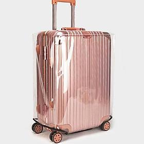 Túi trùm vali, áo bọc vali trong suốt