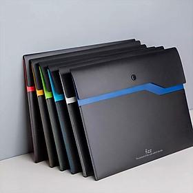 Túi đựng tài liệu hai lớp 6 màu Mi Youpin Fizz, túi đựng tài liệu A4 chống thấm nước 6 màu, tệp dữ liệu chống thấm nước và chống ố, túi đựng tài liệu kinh doanh túi đựng hồ sơ, đựng bút, dùng cho văn phòng hoặc trường học