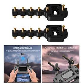 Antenna Reflection Amplifier  for Mavic 2/Mini/Air 1/Spark Drone Remote Control Range Extender Accessory