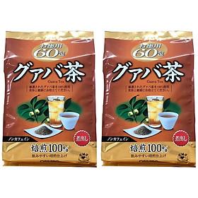 Combo 2 túi Trà ổi giảm cân Orihiro Nhật Bản túi 60 gói