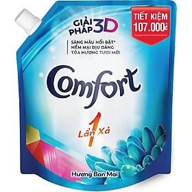 Nước Xả Vải Comfort Một Lần Xả Hương Ban Mai Túi 2.6L