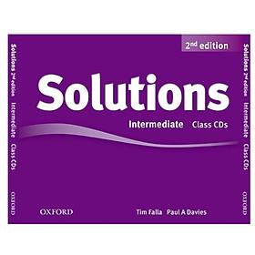 Solutions (2E) Intermediate Class Audio CDs (3 Discs)
