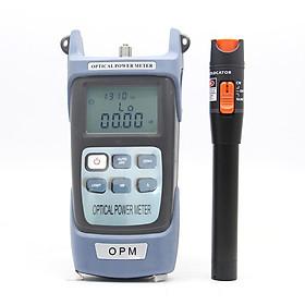 Fiber Optic Tool Kit Self Calibration Optical Power Meter 10MW Visual Fault Locator Testing Pen