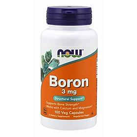 Viên Uống Now Boron 3mg