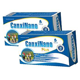 Hai hộp thực phẩm Canxi Nano Plus bổ sung dinh dưỡng cho người lớn