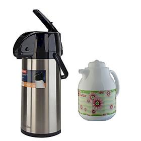 Phích đựng nước nóng Rạng Đông RD2545 ST1.E + Tặng kèm bình trà giữ nhiệt RD1055 TS