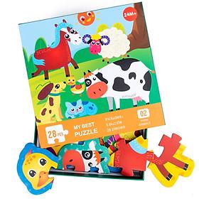 Đồ chơi ghép hình Farm Animals 28 miếng