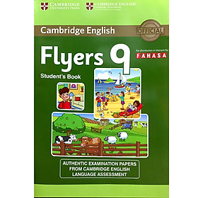 Cambridge Young Learner English Test Flyers 9: Student Book