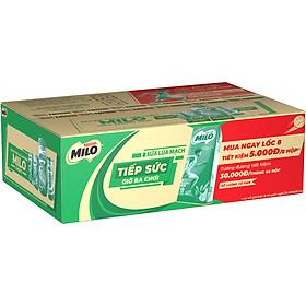 Thùng 48 Hộp Sữa Lúa Mạch Nestlé Milo 180 ml (48 x 180ml) - Phiên Bản Thank Mom