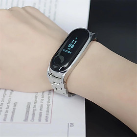 Stainless Steel Bracelet Wristbands for Xiaomi Mi Band 3/4 Strap
