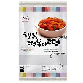 Bánh Gạo Hàn Quốc Tokpokki Dạng Thỏi Matamun (600g)