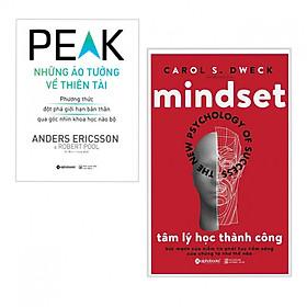 Combo 2 cuốn sách kĩ năng hay nhất: Những Ảo Tưởng Về Thiên Tài + Tâm Lý Học Thành Công ( Tặng kèm bookmark)