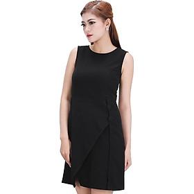 Đầm Vạt Chéo Phối Nút Zerasy Fashion